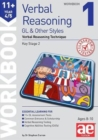 11+ Verbal Reasoning Year 4/5 GL & Other Styles Workbook 1 : Verbal Reasoning Technique - Book