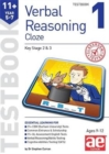 11+ Verbal Reasoning Year 5-7 Cloze Testbook 1 - Book