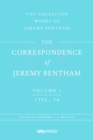 The Correspondence of Jeremy Bentham, Volume 1 : 1752 to 1776 - Book