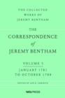 The Correspondence of Jeremy Bentham, Volume 3 : January 1781 to October 1788 - Book