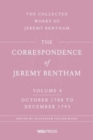 The Correspondence of Jeremy Bentham, Volume 4 : October 1788 to December 1793 - Book