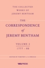 The Correspondence of Jeremy Bentham, Volume 2 : 1777 to 1780 - Book