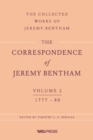 The Correspondence of Jeremy Bentham, Volume 2 : 1777 to 1780 - eBook