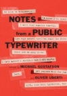 Notes from a Public Typewriter - Book