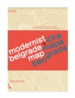 Modernist Belgrade Map - Book
