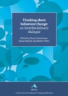 Thinking About Behaviour Change : An Interdisciplinary Dialogue - Book