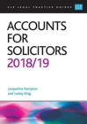 Accounts for Solicitors 2018/2019 - Book