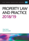 Property Law and Practice 2018/2019 - Book