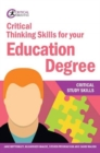 Critical Thinking Skills for your Education Degree - Book