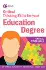 Critical Thinking Skills for your Education Degree - eBook