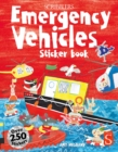 Scribblers Fun Activity Emergency Vehicles Sticker Book - Book
