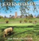 Cotswolds Mini Desktop Calendar - 2020 - Book