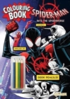 Spider-Man: Into the Spider-Verse Colouring Book with Pencils - Book