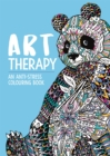 Art Therapy : An Anti-Stress Colouring Book - Book