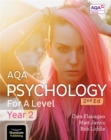 AQA Psychology for A Level Year 2 Student Book: 2nd Edition - Book