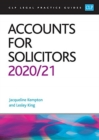 Accounts for Solicitors 2020/2021 - Book