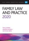 Family Law and Practice 2020 - eBook