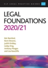 Legal Foundations 2020/2021 - Book