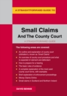A Straightforward Guide To Small Claims And The County Court - Book