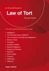 An Emerald Guide To Law Of Tort : Revised Edition 2020 - Book