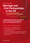 Marriage And Civil Partnerships In The UK : Includes Same-Sex Marriage and Mixed-Sex Civil Partnerships - Book