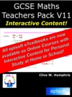 GCSE Maths Teachers Pack V11 - eBook