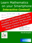 Learn Mathematics on your Smartphone - eBook