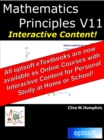 Mathematics Principles V11 - eBook