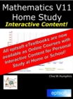 Mathematics V11 Home Study - eBook