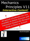 Mechanics Principles V11 - eBook