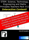 STEM : Science, Technology, Engineering and Maths Principles Teachers Pack V11 - eBook
