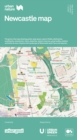 Urban Nature Newcastle Map : The green city map showing parks, play space, sports fields, allotments, woodlands, cemeteries, rivers, beaches, nature reserves, great walks, outdoor activities & more. E - Book