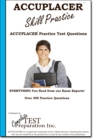 ACCUPLACER Skill Practice! : Practice Test Questions for the ACCUPLACER Test! - eBook