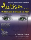 Autism...What Does It Mean To Me? : A Workbook Explaining Self Awareness and Life Lessons to the Child or Youth With High Functioning Autism or Asperger's - Book