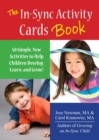The In-Sync Activity Cards Book : 50 Simple New Activities to Help Children Develop, Learn, and Grow! - eBook