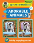 Spot The Differences: Adorable Animals : 50 Picture Puzzles, Thousands of Challenges - Book