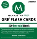 500 Essential Words: GRE Vocabulary Flash Cards - eBook