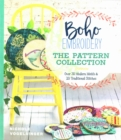 Boho Embroidery: The Pattern Collection : Over 30 Modern Motifs & 50 Traditional Stitches - Book