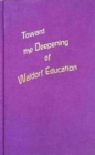 Toward the Deepening of Waldorf Education - Book