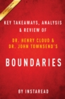 Guide to Dr. Henry Cloud's & et al Boundaries by Instaread - eBook