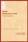 David Rosenmann-Taub: poemas y comentarios - eBook
