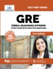 GRE Verbal Reasoning Supreme: Study Guide with Practice Questions - eBook