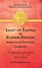 Light on Tantra in Kashmir Shaivism : Chapter One of Abhinavagupta's Tantraloka - Book