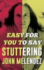Easy For You To Say - Book