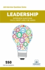 Leadership Interview Questions You'll Most Likely Be Asked - eBook