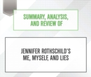 Summary, Analysis, and Review of Jennifer Rothschild's Me, Myself, and Lies - eAudiobook