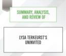 Summary, Analysis, and Review of Lysa TerKeurst's Uninvited - eAudiobook