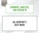 Summary, Analysis, and Review of Cal Newport's Deep Work - eAudiobook