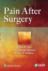 Pain After Surgery - Book