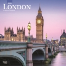 London 2020 Square Wall Calendar - Book